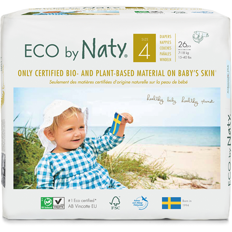 EarthHero - Biobased Size 4 Eco-Friendly Diapers - 1