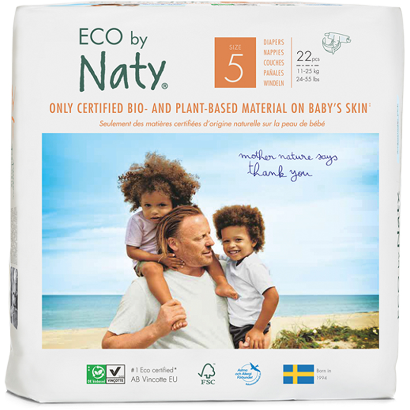 EarthHero - Biobased Size 5 Eco-Friendly Diapers - 1
