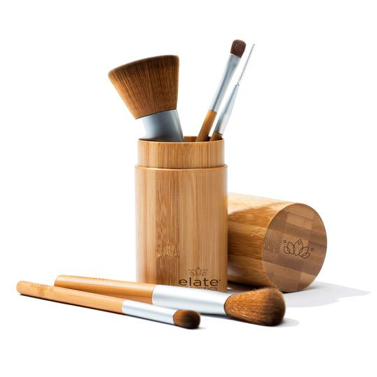 EarthHero - Bamboo Makeup Brush Set + Canister - 1, EarthHero - Bamboo Makeup Brush Set + Canister - 2, EarthHero - Bamboo Makeup Brush Set + Canister - 3, EarthHeEarthHero - Bamboo Makeup Brush Set + Canister - 1
