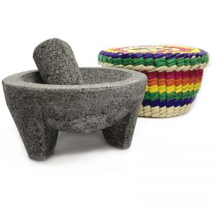 EarthHero - Guacamole Molcajete and Tortilla Basket - 1