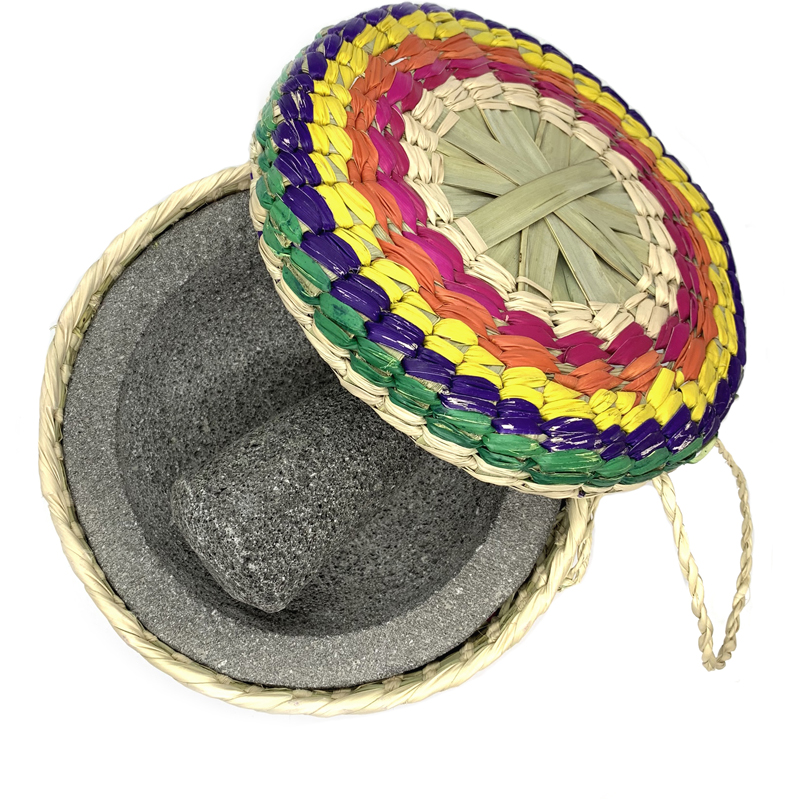 EarthHero - Guacamole Molcajete and Tortilla Basket - 3