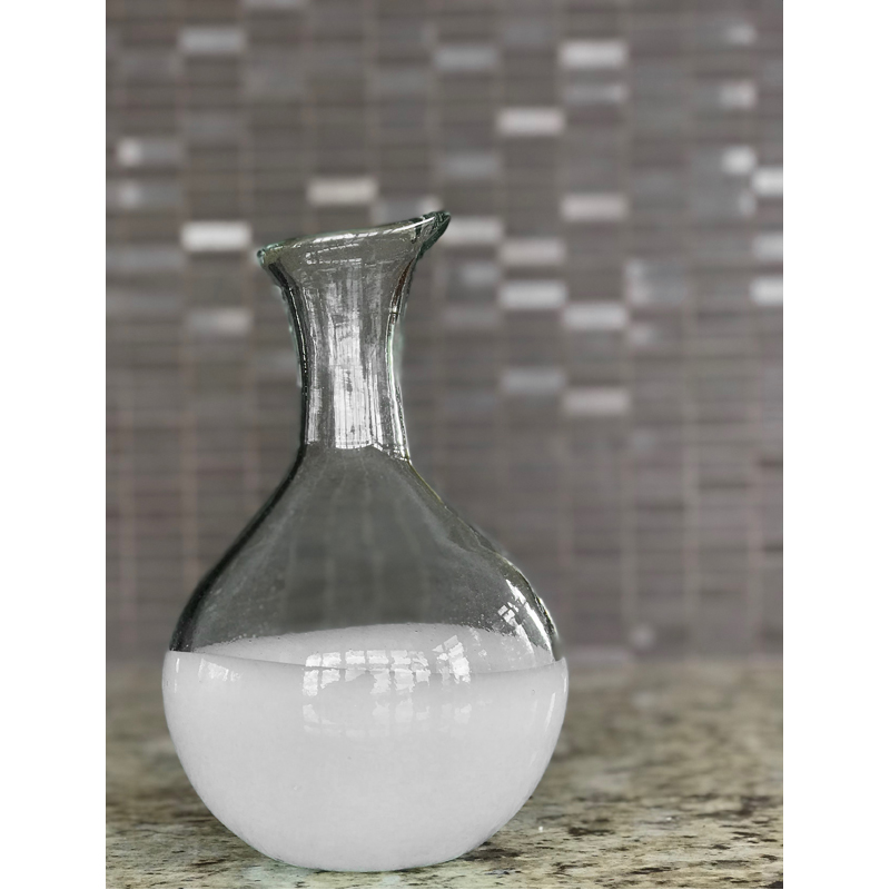 EarthHero - Handblown Recycled Glass Carafe -4