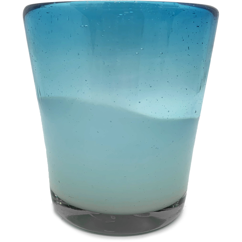 EarthHero - Handblown Recycled Glasses 4pk - 3