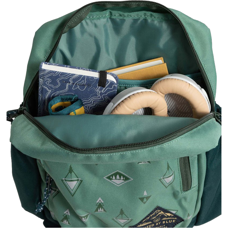 EarthHero - Forest Bluff Recycled Polyester Utility Travel Backpack - 5