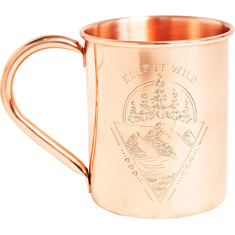 EarthHero - Keep it Wild Copper Mug 14oz - 1