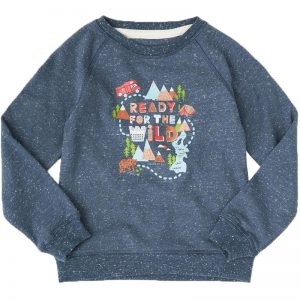 EarthHero - Ready for the Wild Graphic Kids Pullover - 1