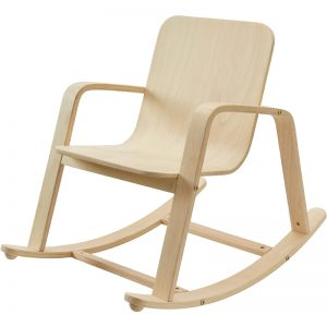 EarthHero - Kid's Wooden Rocking Chair - 1