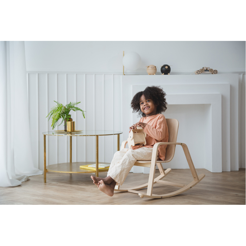 EarthHero - Kid's Wooden Rocking Chair - 2EarthHero - Kid's Wooden Rocking Chair - 3