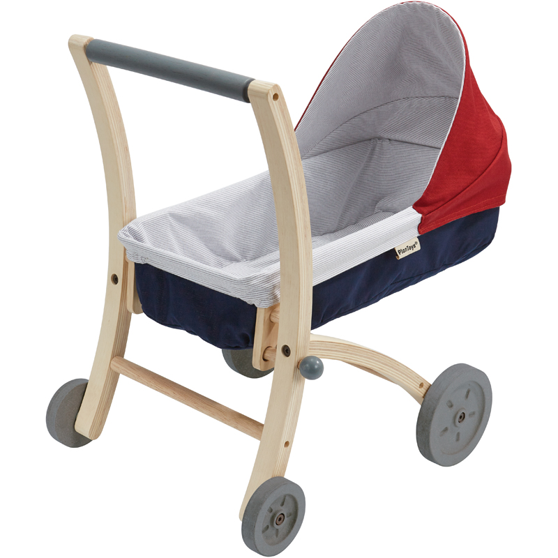 EarthHero - Pretend Play Doll Stroller - 1