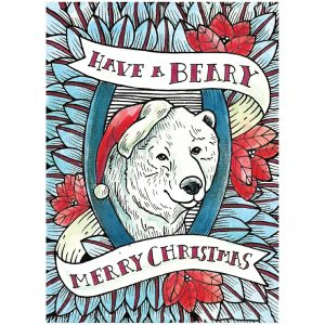 EarthHero - Beary Merry Christmas Cards (10 Pk) 1