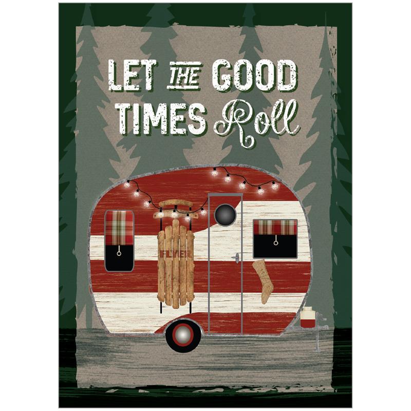 EarthHero - Good Times Roll Christmas Cards (10 Pk) 1