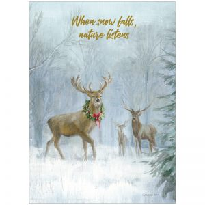 EarthHero - Holiday Deer Holiday Greeting Cards (10 Pk) 1