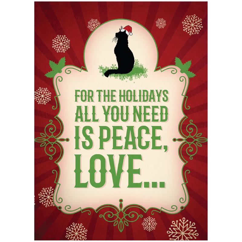 EarthHero - More Cats Christmas Cards (10 Pk) 1