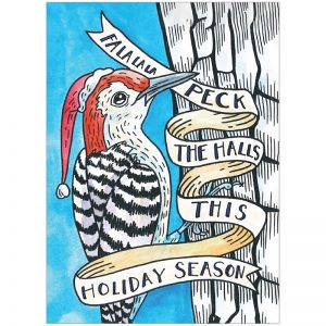 EarthHero - Peck the Halls Christmas Cards (10 Pk) 1