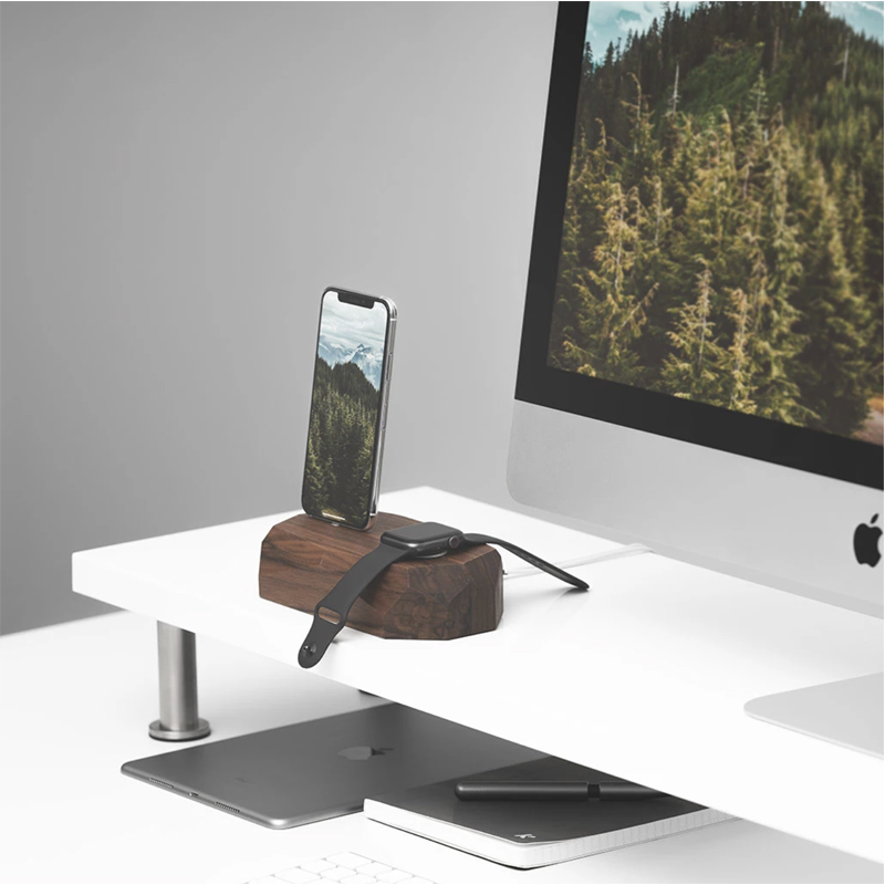 EarthHero - Combo Wooden iPhone Charging Dock - 6