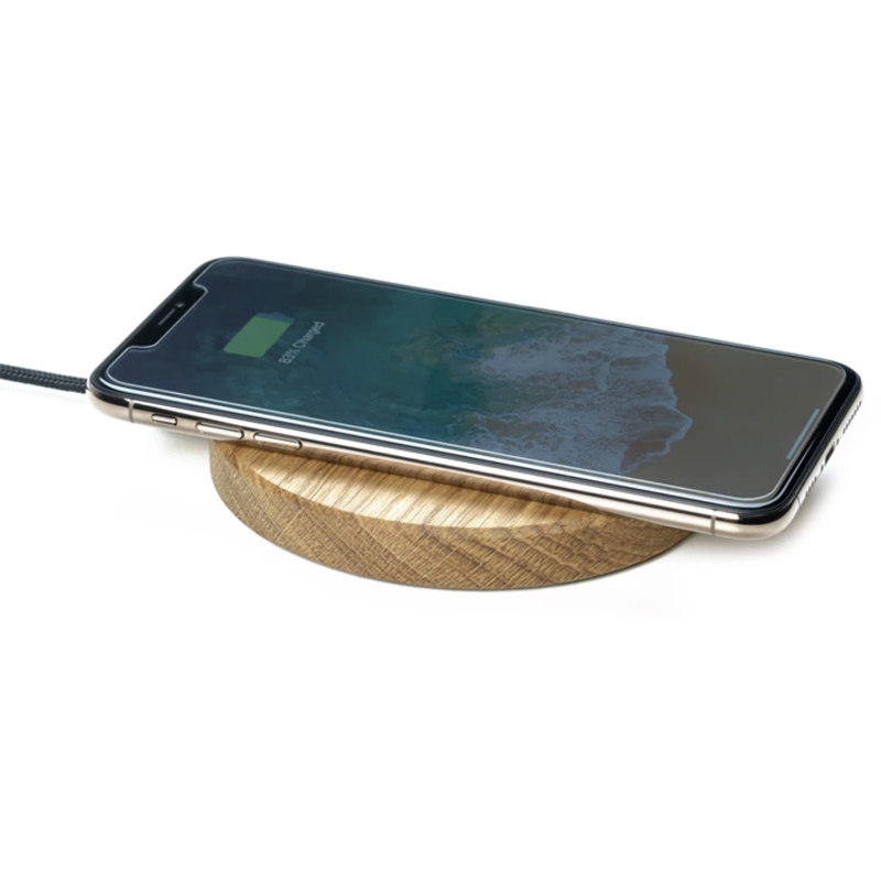 EarthHero - Slim Wooden iPhone Wireless Charger - 6