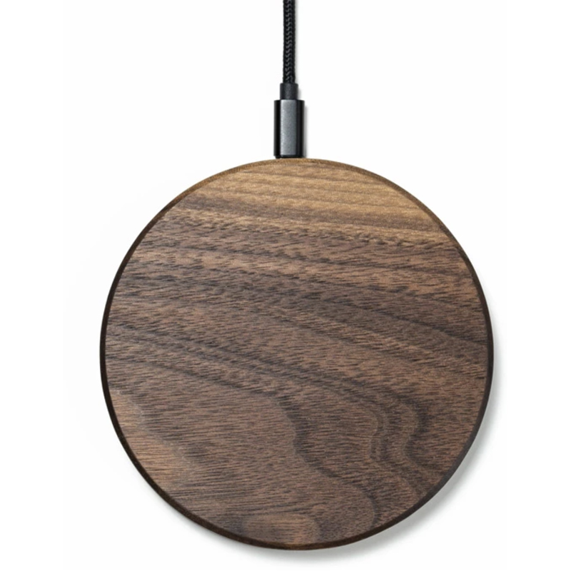 EarthHero - Slim Wooden iPhone Wireless Charger - 1