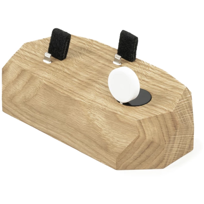 EarthHero - Triple Wooden iPhone Charging Dock - 4