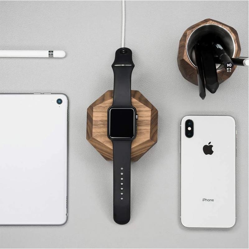 EarthHero - Wooden Apple Watch Charging Dock - 4