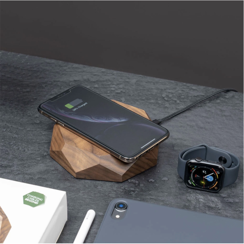 EarthHero - Wooden iPhone Wireless Charger - 6