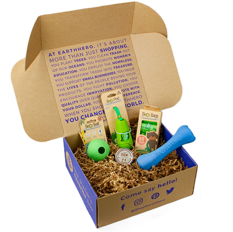 EarthHero -Pampered Pup Dog Gift Box - 1