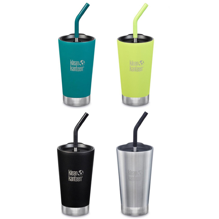 EarthHero - Classic Insulated Tumbler with Straw and Lid 16oz 1