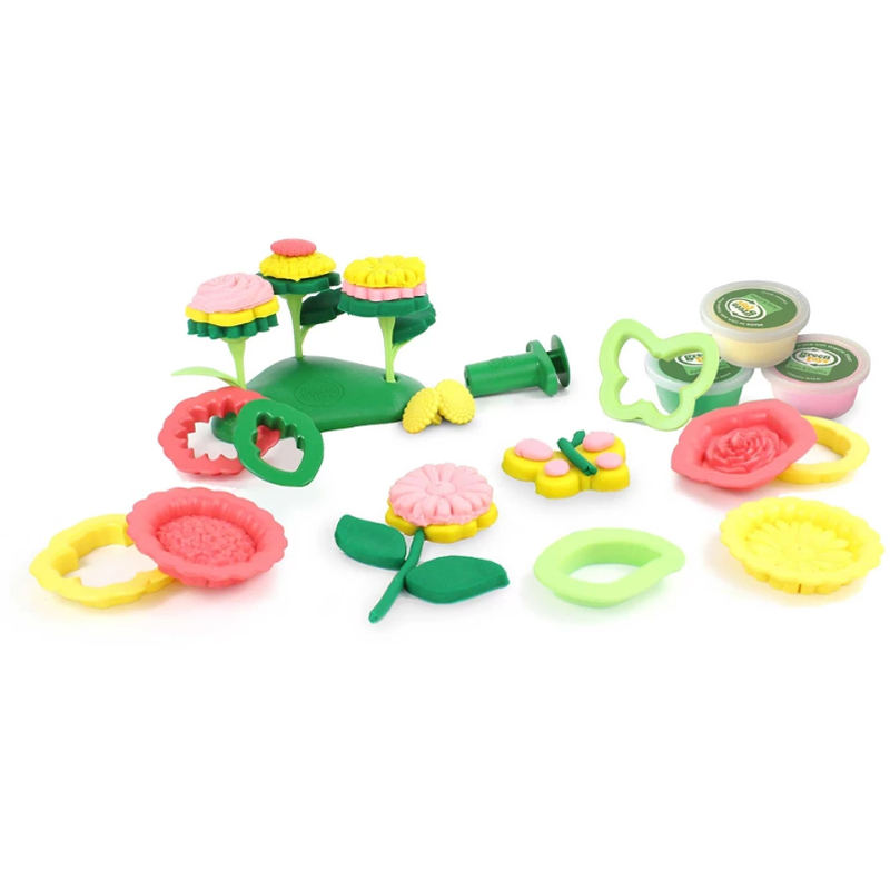EarthHero - Flower Maker Organic Playdough Set - 1