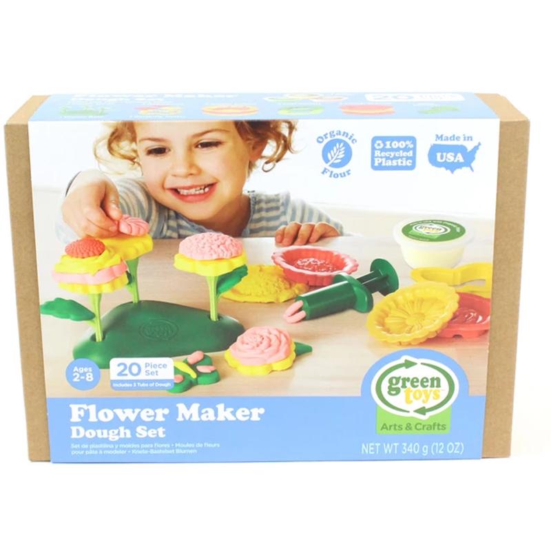 EarthHero - Flower Maker Organic Playdough Set - 2