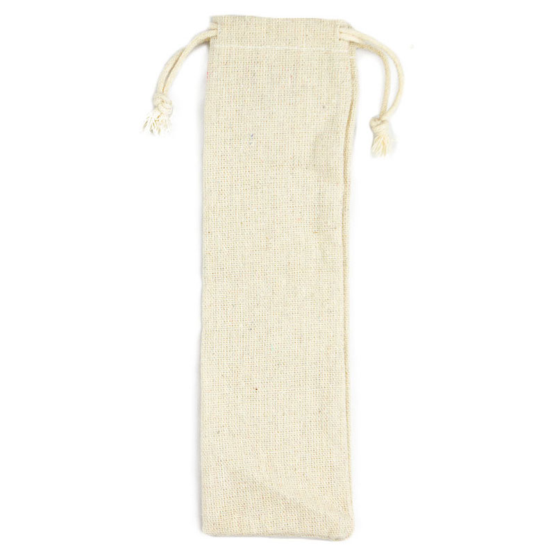 EarthHero - Organic Cotton Straw Pouch - 1