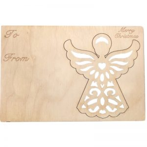 EarthHero - Angel Holiday Ornament Card - 1
