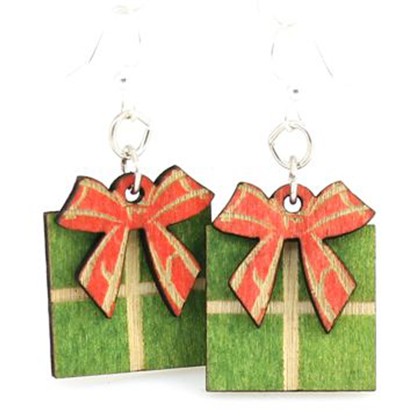 EarthHero - Gift Wooden Earrings - 1