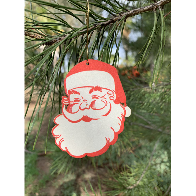 EarthHero - Vintage Santa Holiday Ornament - 2