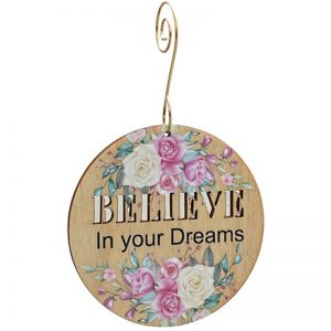 EarthHero - Believe In Your Dreams Holiday Ornament - 1
