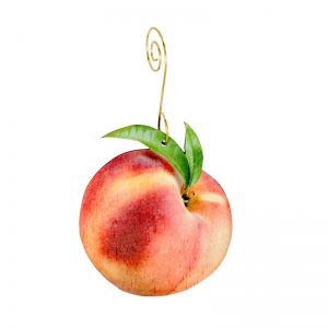 EarthHero - Peach Holiday Ornament - 1