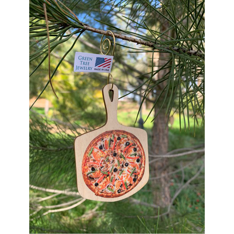 EarthHero - Pizza Holiday Ornament - 2