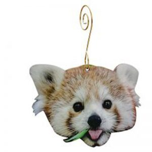 EarthHero - Red Panda Holiday Ornament - 1