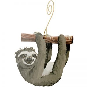 EarthHero - Sloth Holiday Ornament - 1