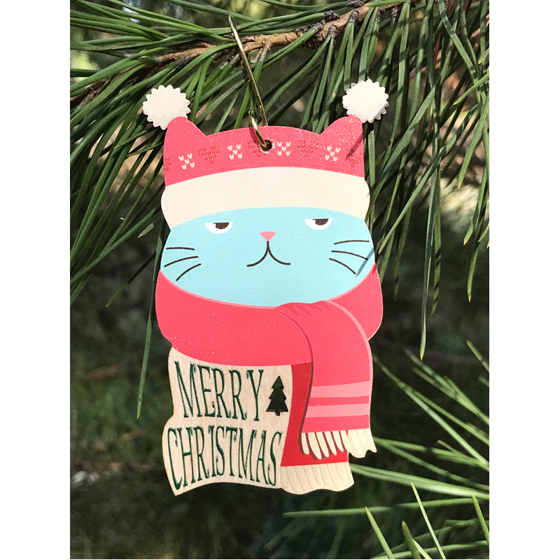 EarthHero - Grumpy Cat Holiday Ornament - 2