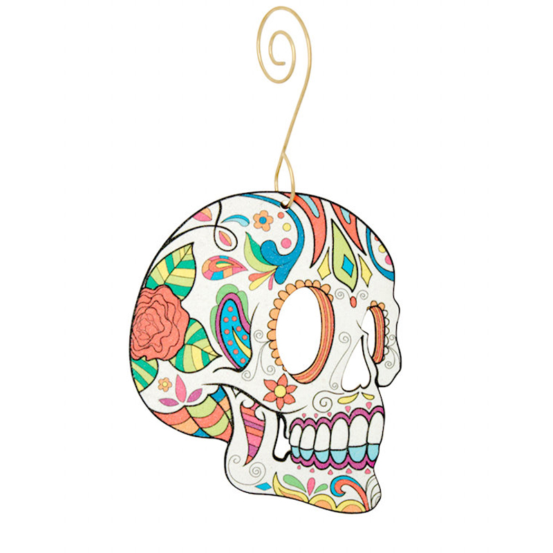 EarthHero - Sugar Skull Holiday Ornament - 1