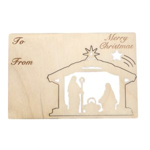EarthHero - Nativity Holiday Ornament Card - 1