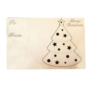 EarthHero - Christmas Tree Holiday Ornament Card - 1