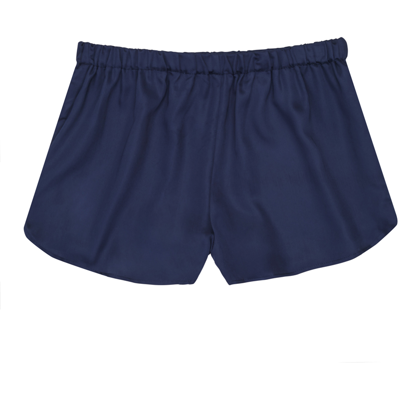 EarthHero - Women's Bamboo Lyocell Bamboo Shorts - Blue Nights
