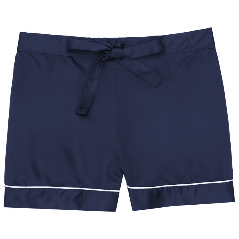 EarthHero - Women's Bamboo Lyocell Pajama Shorts - Blue Nights