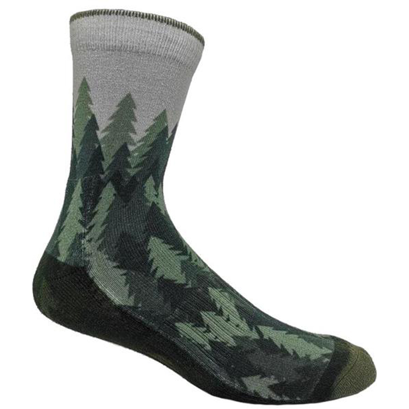 EarthHero - Alpine Trees Recycled Polyester Socks - 2