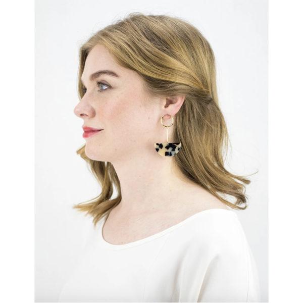 EarthHero - Lunette Drop Earrings - 2