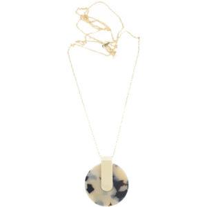 EarthHero - Sustainable Iota Pendant Necklace - 1