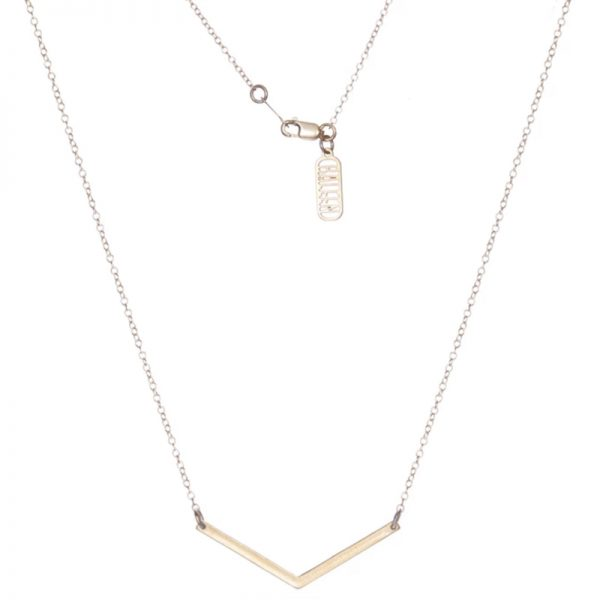 EarthHero - Sustainable Small V Necklace - 1