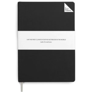EarthHero - Dotted Stone Paper Bullet Journal - Charcoal Black