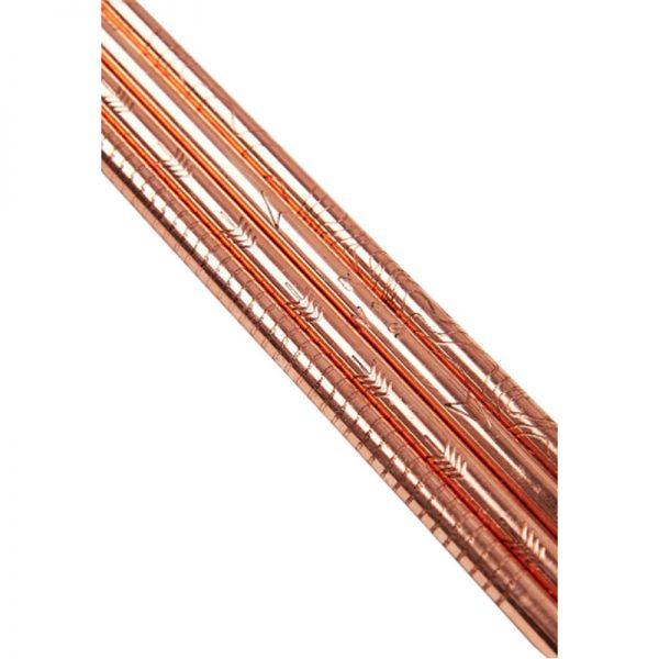 EarthHero - Adventure Set Copper Reusable Straws - 3