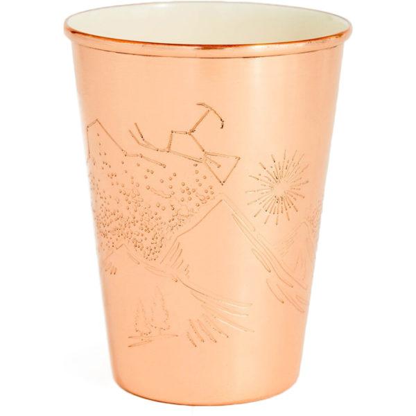 EarthHero - Mountain Gaze Enamel Lined Copper Cups - 1
